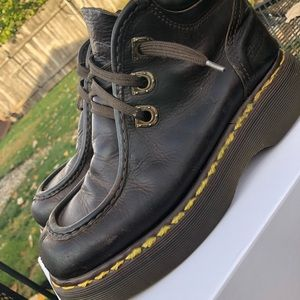Dr. Martens brown leather